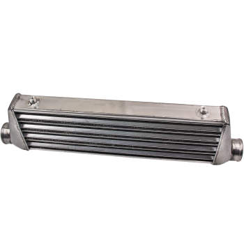 New Universal Front Aluminum Mount Intercooler 27X7X2.5 inch Tube and Fin