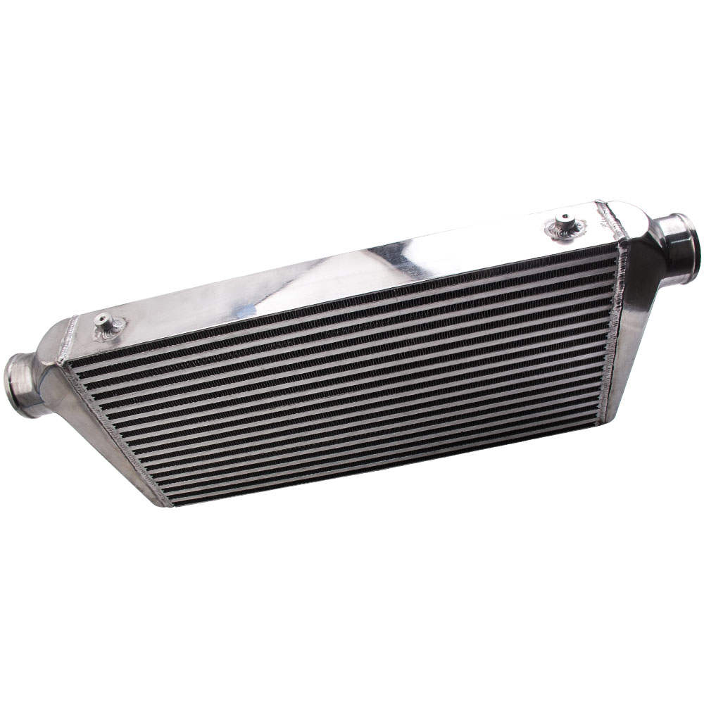 Universal Front Mount Intercooler Bar and Plate 600x300x76mm 3 inch In/outlet