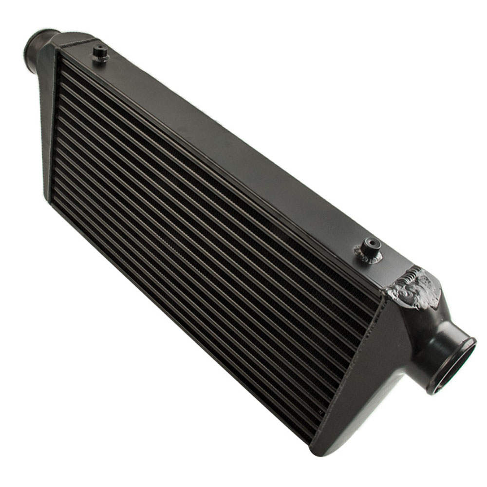 Ture and Fin 600x300x76 3inch In/outlet BK Universal Front Mount Intercooler