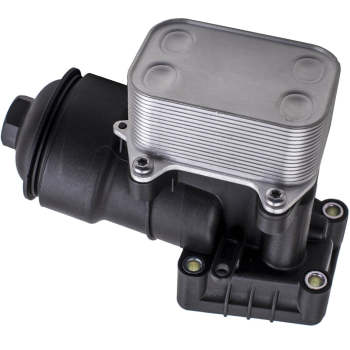 Oil Cooler housing with radiator cap gasket for Audi VW Skoda 03L115389C 03L1153