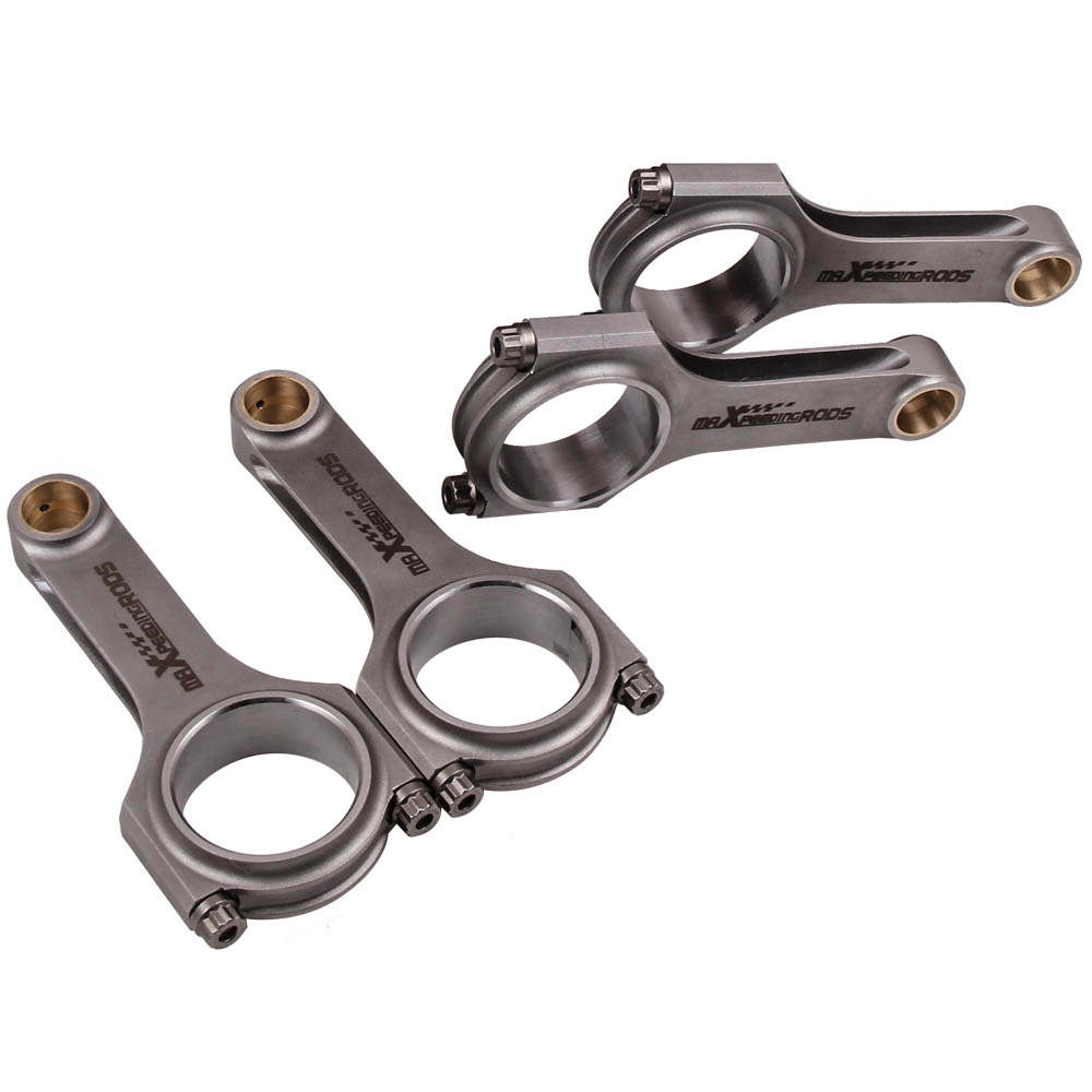 For Ford X Flow Lotus twincam BDA Cosworth BDG narrow journal ARP 2000 Connecting Rod - High Performance 4340 EN24 H-Beam Conrod