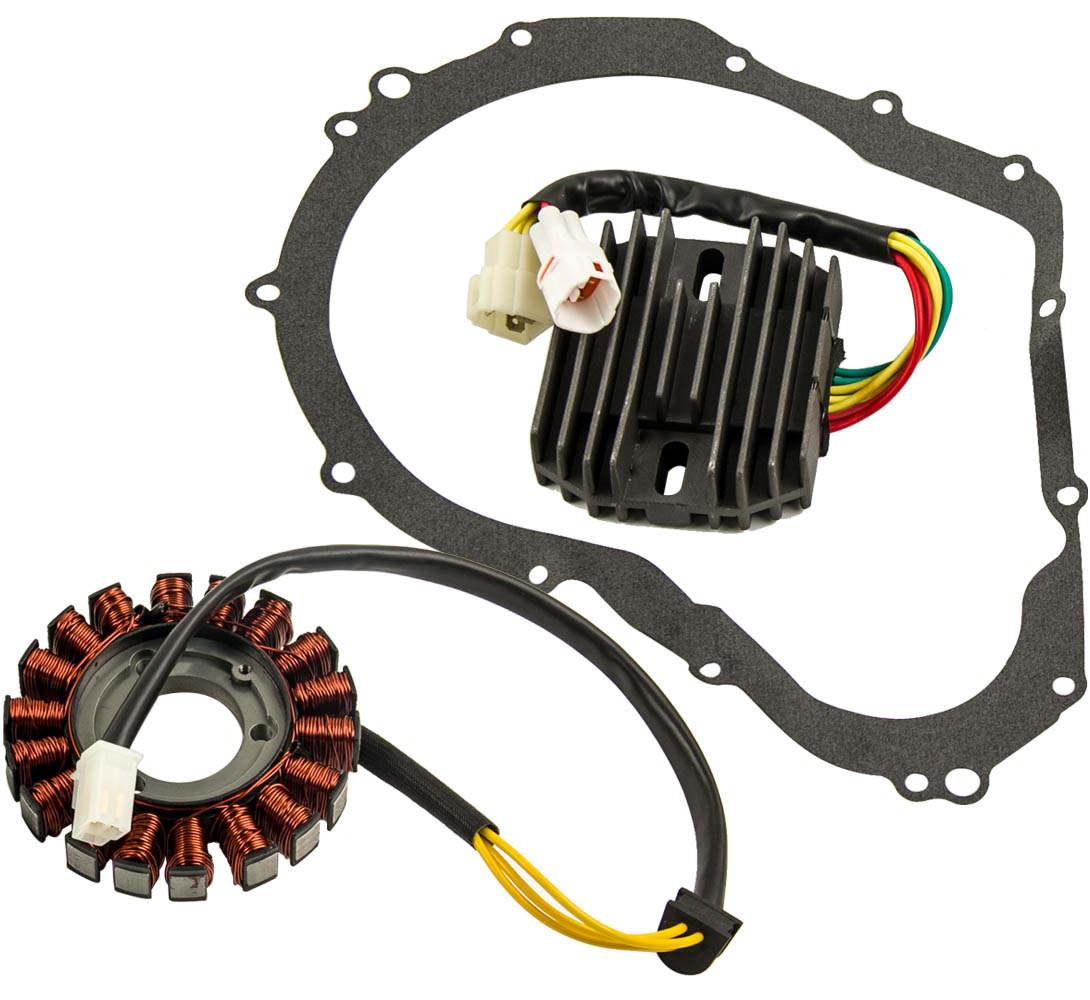 Stator Regulator Rectifier With Gasket For Suzuki GSXR 750 2006-10 07 08 09