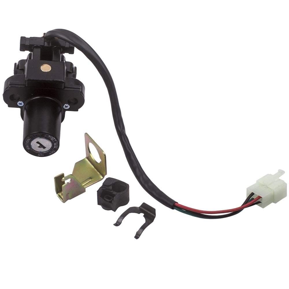 CSR New Ignition Switch Fuel Gas Cap Lock Key Kit For Honda CBR900RR VFR800