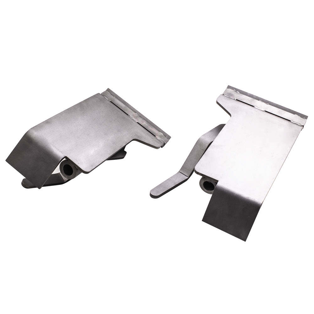 2X Weld On Skid Steer Quick Attach Conversion Adapter Quick Tach Latch Box