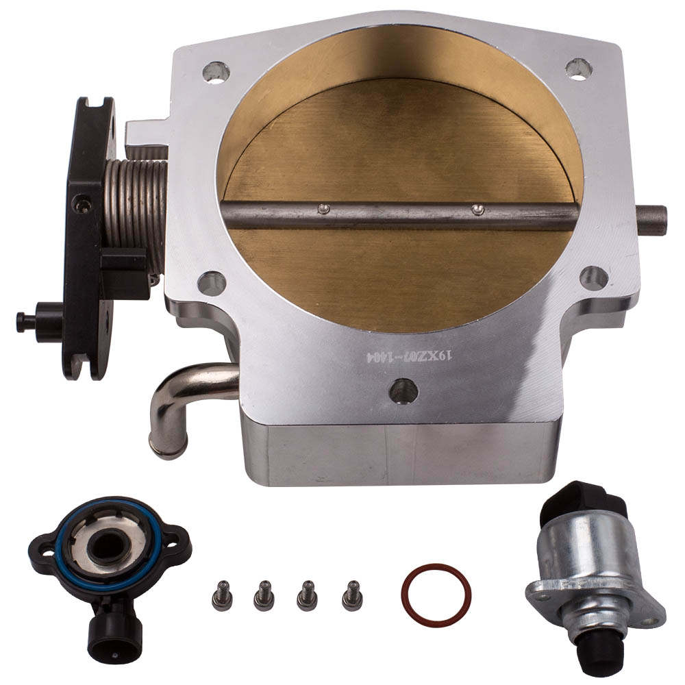 102MM Throttle body &TPS IAC Throttle Position for Sensor GM III LS1 LS2 LS3 LS7