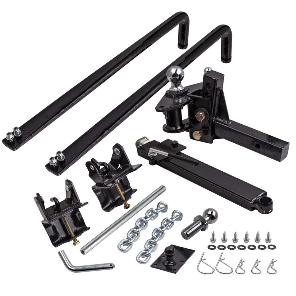 800Lb 365Kg Weight Distribution Hitch System Load Leveller Anti Sway Bars