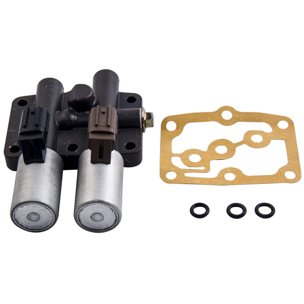 New Transmission Dual Linear Shift Solenoid with gasket For Honda Acura 1998 +