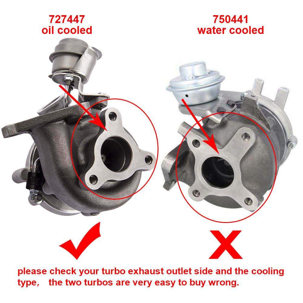Turbocompresor GT1849V compatible con Nissan Almera Di 2.2L YD22ED / YD1 14411AW400 727477-5006