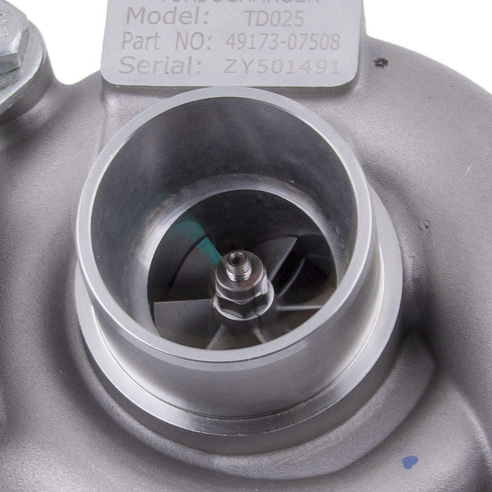 compatible Para Peugeot, Citroen 1.6 HDi, compatible para Ford 1.6 TDCi 90HP Turbo / Turbocompresor 49173-07508