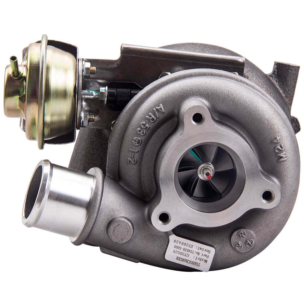 Turbo GT2052V compatible para Nissan Patrol Terrano 3.0 Aceite frío ZD30ETi 724639, 705954