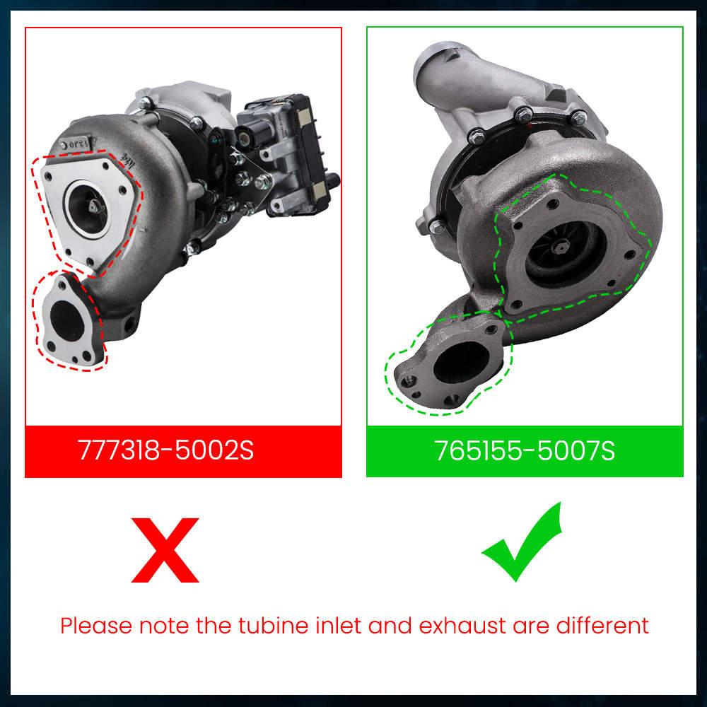 TurbocompresorV6 A6420900280 para Mercedes C E CLK 320 CDI 224 765155-5007S