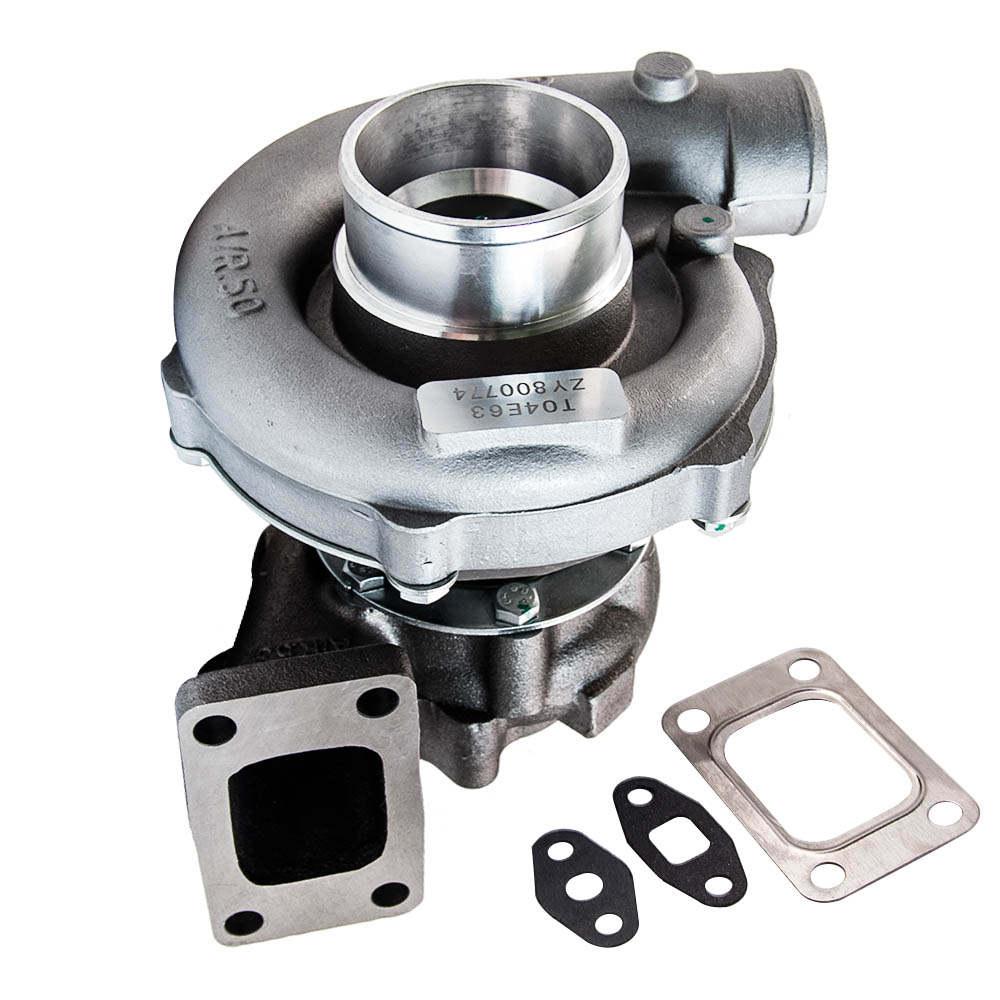 Universal Turbo t3 flange pipe bov adaptor wastegate turbocharger kits 25 PSI