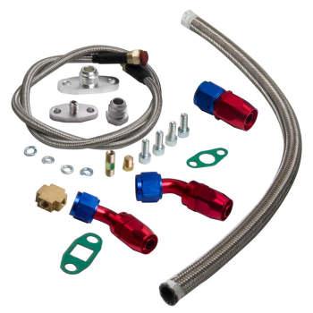 T04E Universal Turbo t3 flange pipe bov adaptor wastegate turbocharger kits