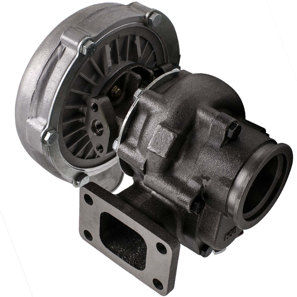 T3/T4 T04E V-BAND Turbocharger Turbo .63 A/R with Internal Wastegate + Manifold