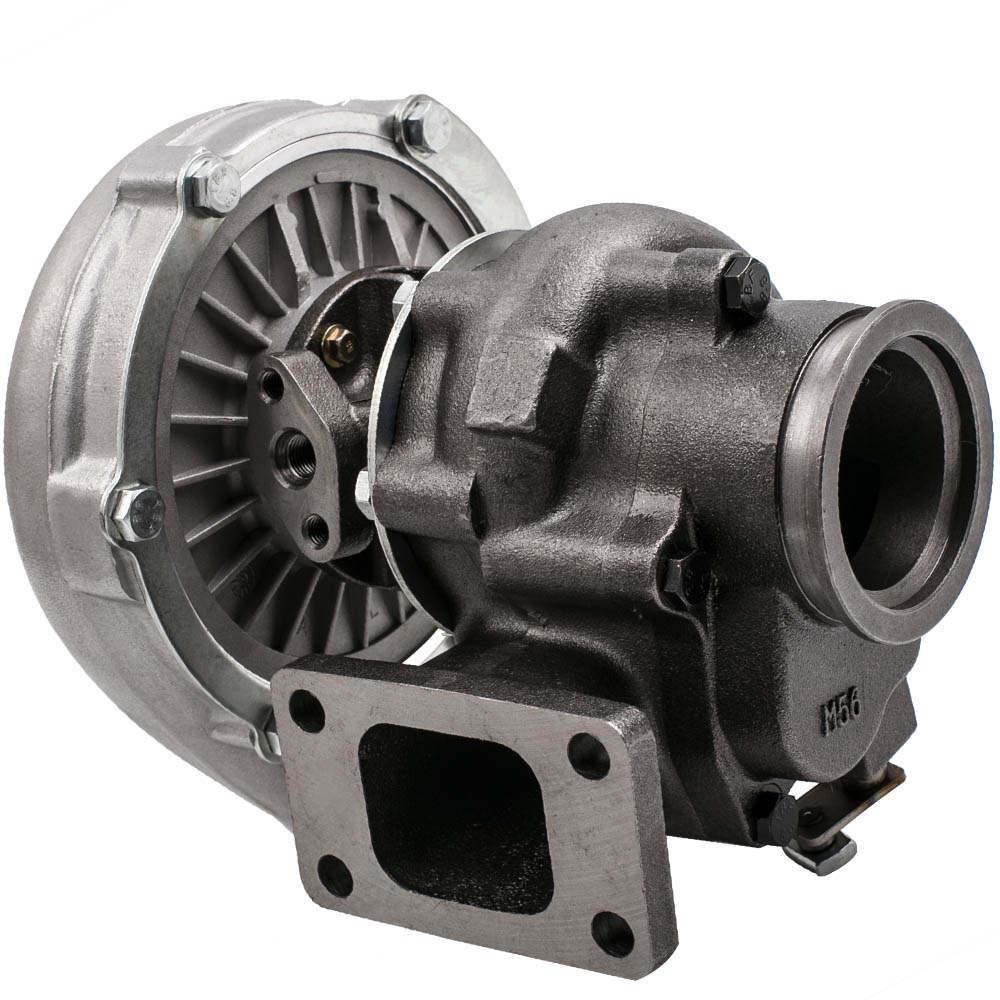 Turbocharger T3 T4 A/R .63 400HP Universal Turbine+Oil Drain Return Feed Lines