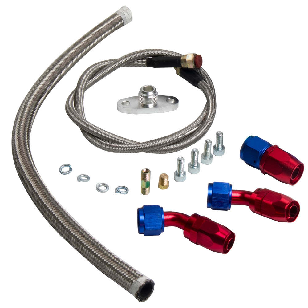 T70 T04Z GT35 T04R T4 twin scroll flange .84 a/r .70 a/r Turbocharger oil cooled