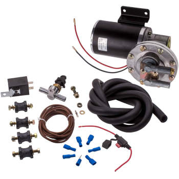 Electric Vacuum Pump Kit for Brake Booster 12 Volt 18 inch - 22 inch Brand New