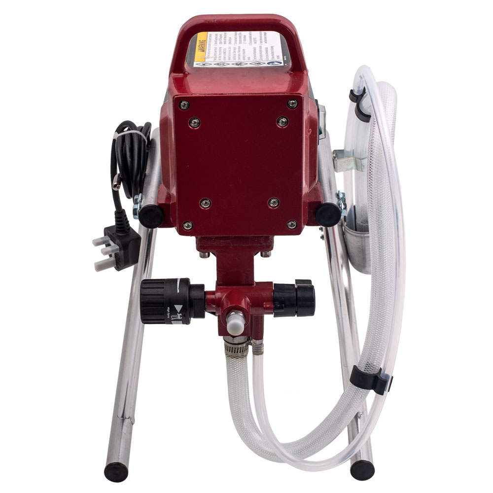 [Second Hand] 2900psi 400w COMMERCIAL ELECTRIC AIRLESS AIR INTERIOR WALL PAINT SPRAYER GUN KIT