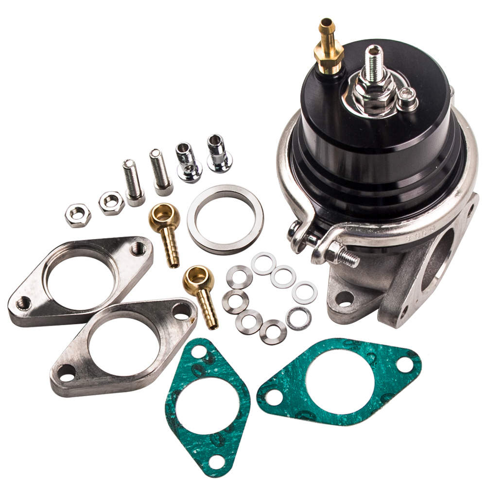 Universal Type-2 External 38mm Turbo Wastegate Bypass Exhaust + Spring PSI