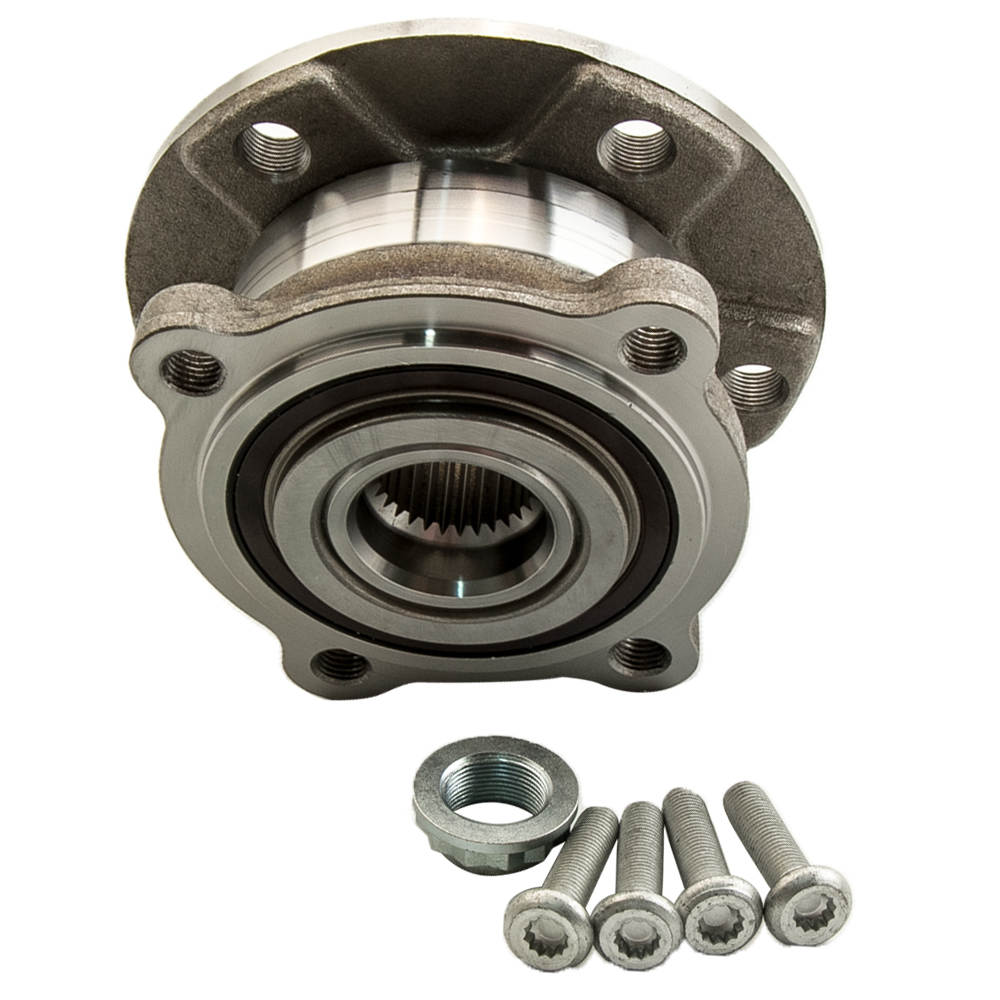 FOR BMW X5 X6 E70 E71 E72 FRONT WHEEL BEARING HUB KIT ABS 31206795959 TCB