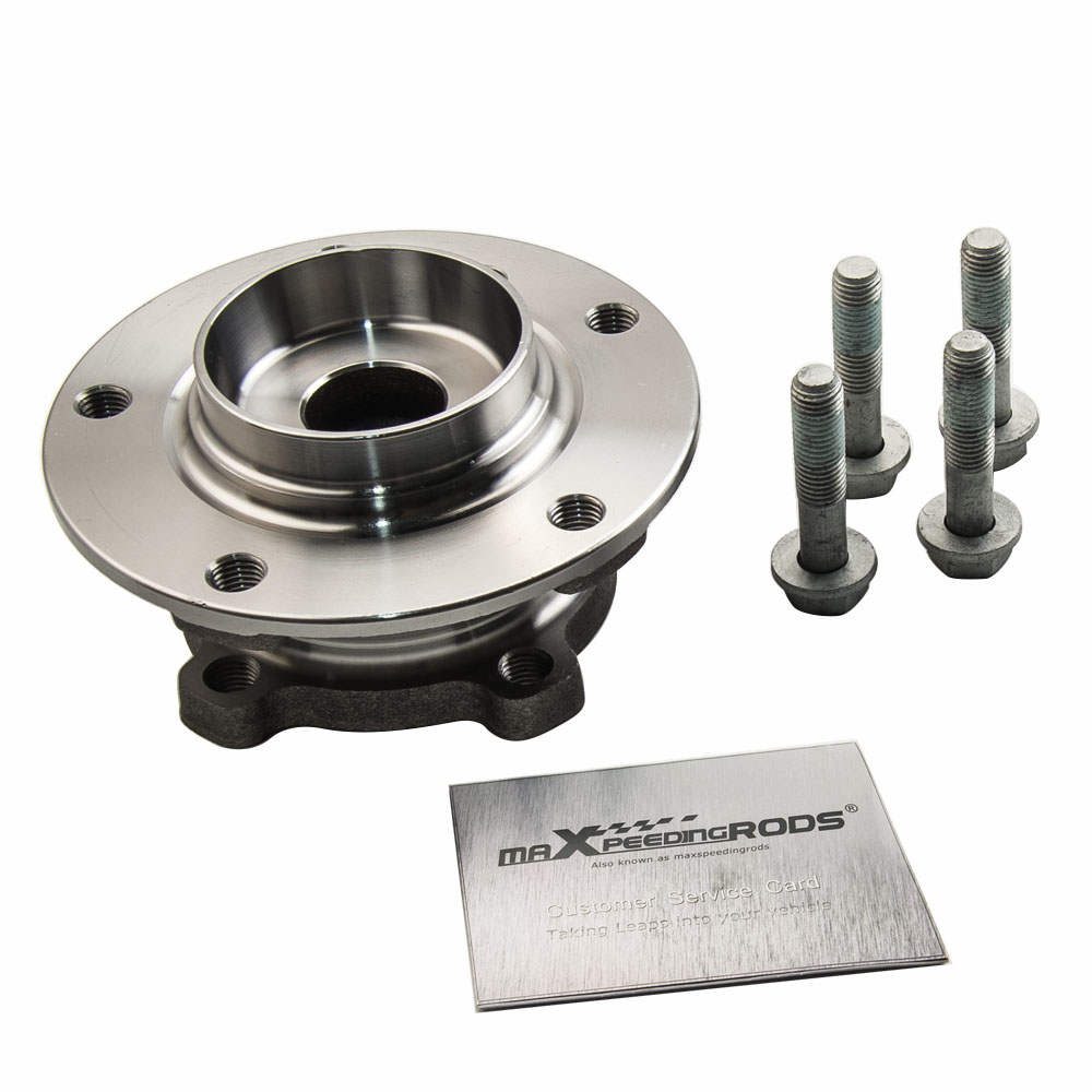 For BMW 5 Touring E61 Wheel Bearing Kit + Hub Assembly Front 31226760177 2010