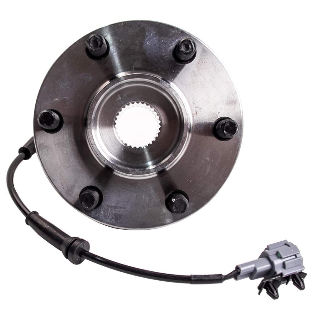 Front Wheel Bearing hub  Assembly ABS Sensor For Nissan Navara D40 2005-2012