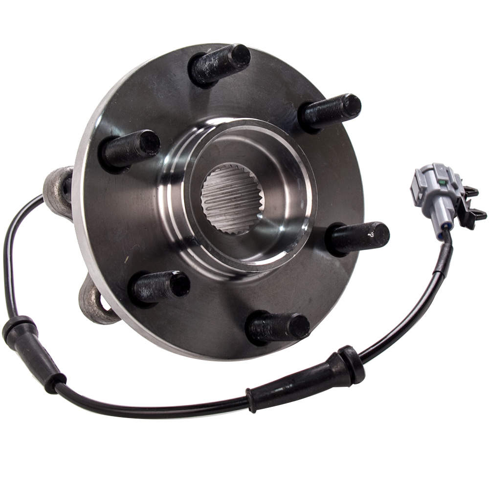 2pcs Front Hub Wheel Bearing Kit Inc ABS Sensor For Nissan Pathfinder R51 2005-2010