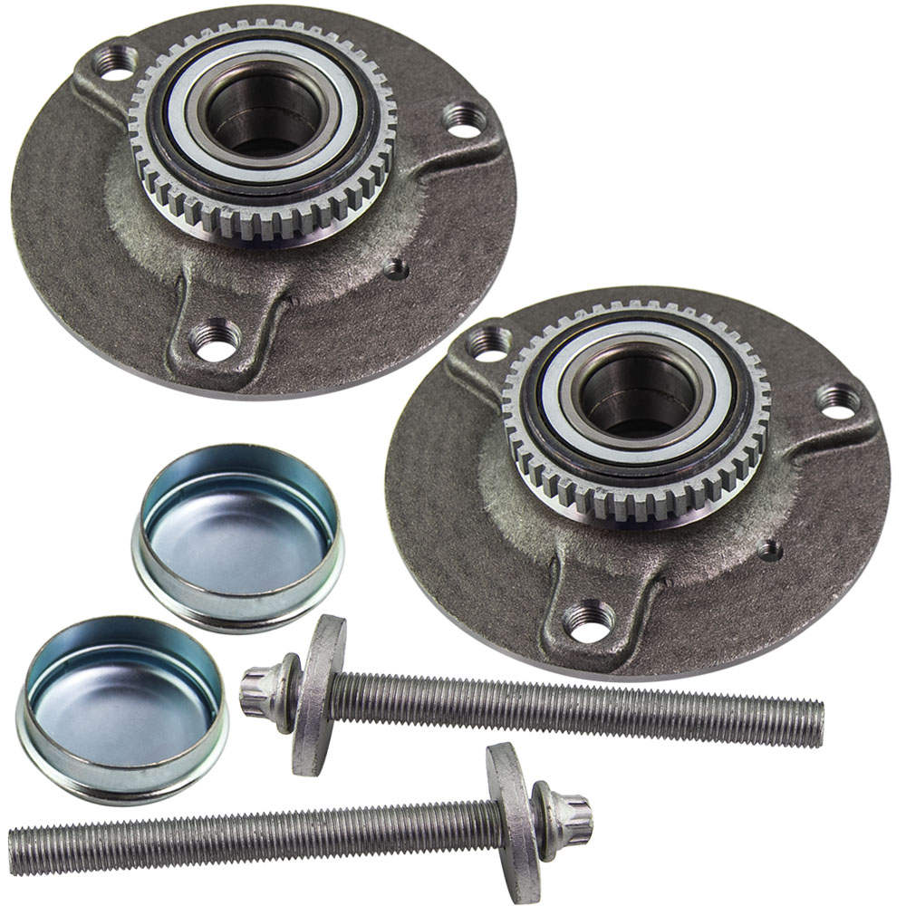 2pcs Front Wheel Bearing Hub Replacement for SMART Roadster 452 2003-2005 Coupe