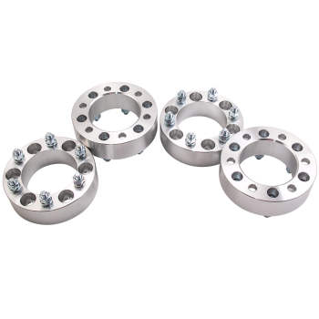For Landcruiser Patrol Hilux 4pcs 50mm High Safety Wheel Spacer Spacers 6x139.7