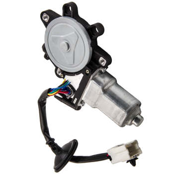 New Pair Set Front Power Window Regulator Motors for Nissan 350Z Infiniti G35 04