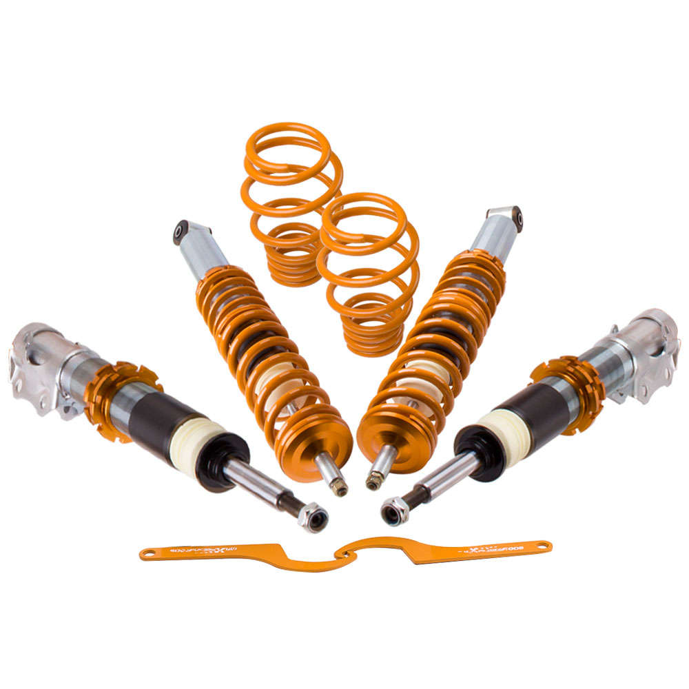 For VW POLO 6N2 Coilover Suspension Lowering Kit Spring Struts 2000