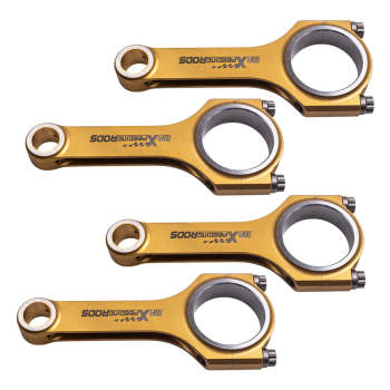 For Benz 1.6T H-Beam Titanizing Connecting Rods