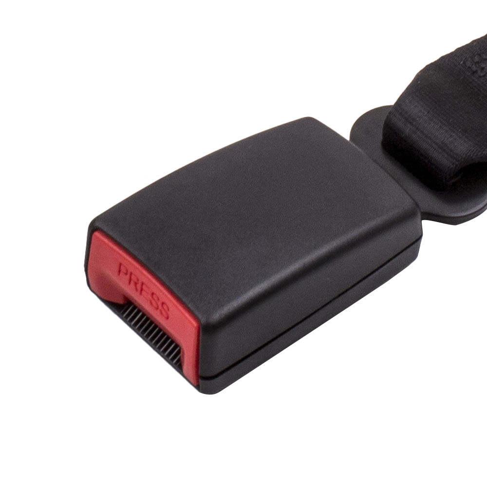 Cinturón Diagonal Cinturón de Seguridad de asiento de auto coche 3 puntos Blac