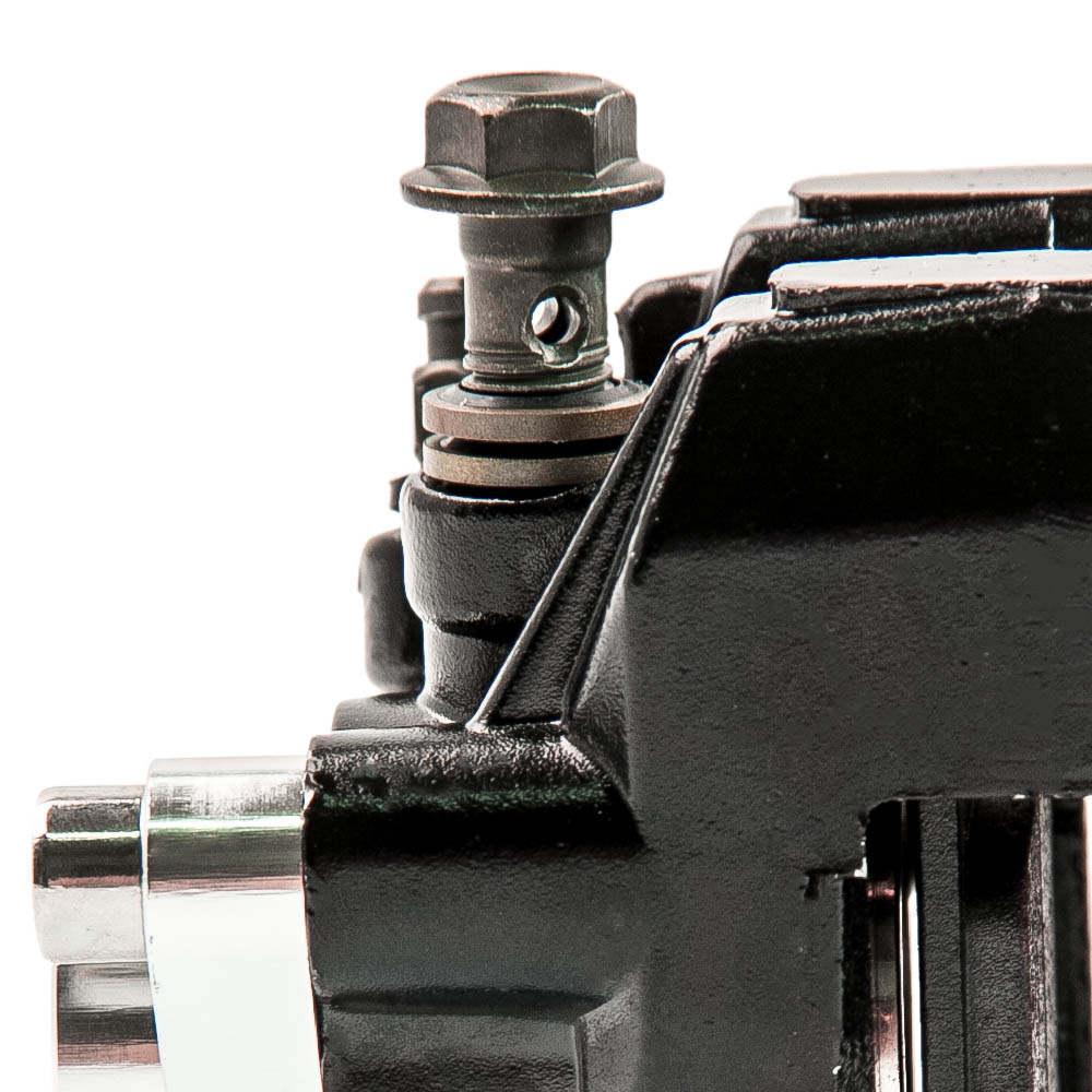 Pinza de freno de pie de freno trasero compatible para Yamaha ATV Banshee Warrior350 Blaster Raptor YFM 350660 w / PADS