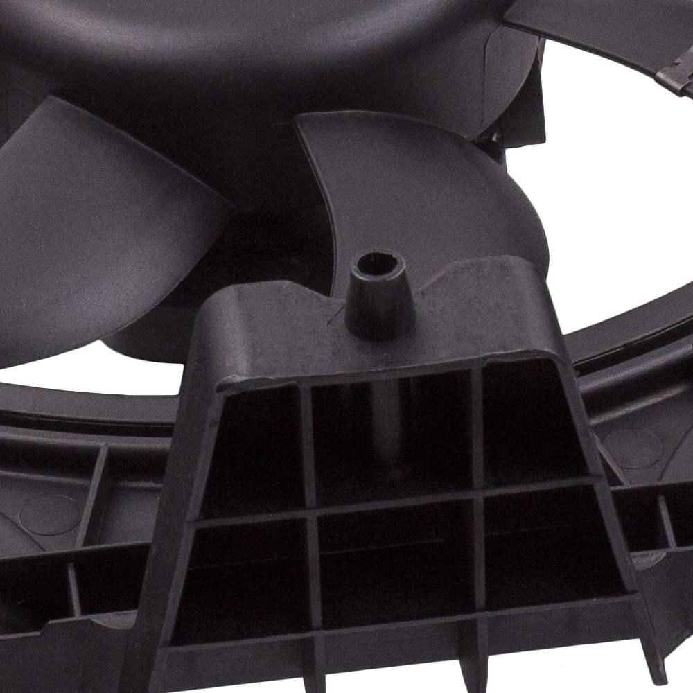 Ventiladores con motor de radiador de A / C compatible para Smart Fortwo II Convertible Coupe 451 0.8 1.0