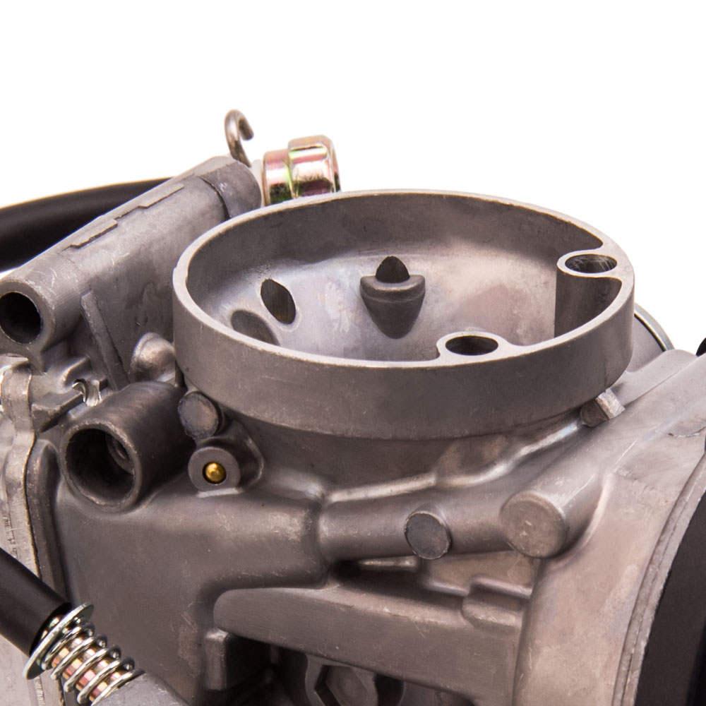 Carburador de carburador para carburador compatible para Suzuki LTZ400 compatible para Kawasaki KFX400 compatible para Yamaha Raptor 350