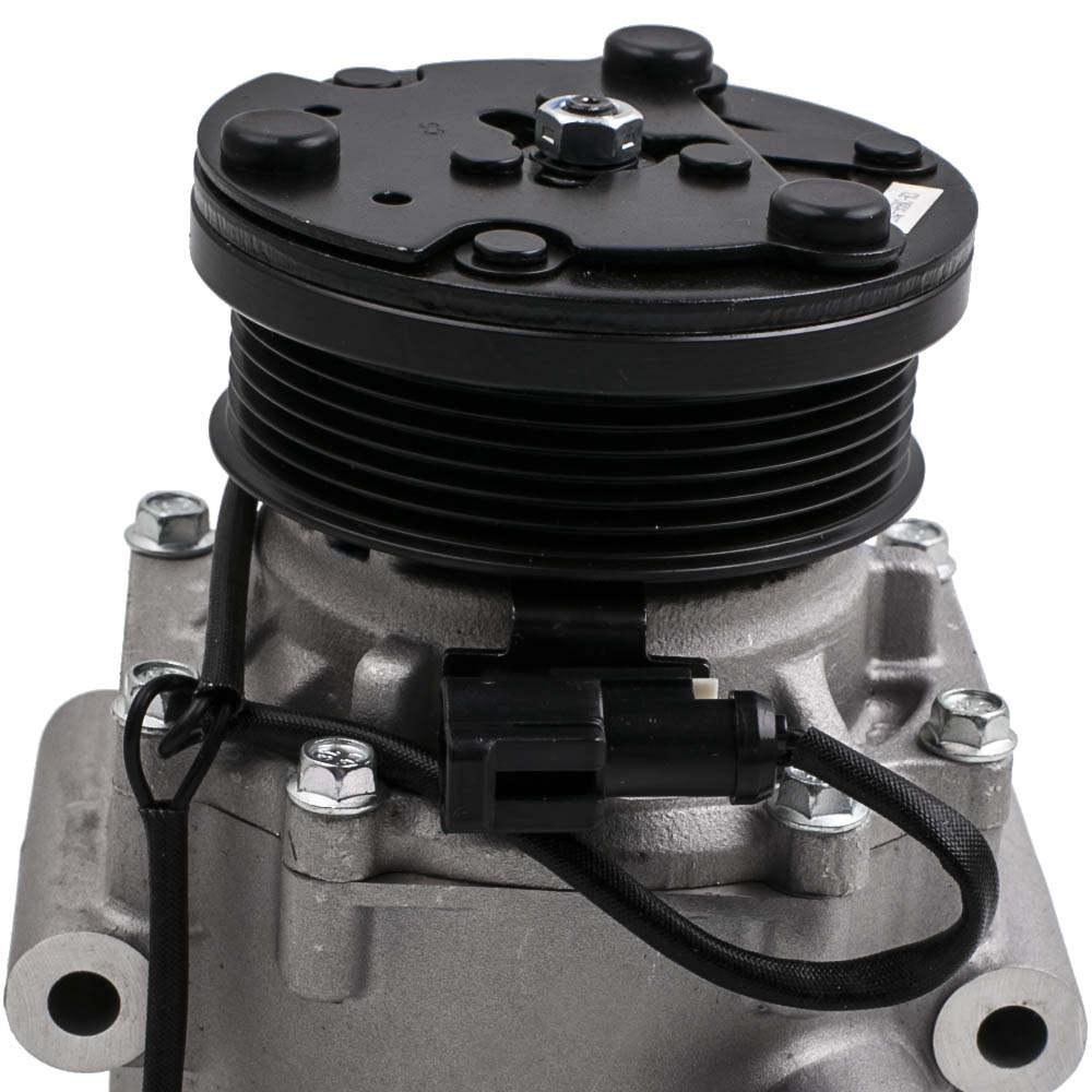 Compresor de aire acondicionado compatible para FORD Focus DAW, DBW 1.4 16V 98-04 compatible para Mazda 2