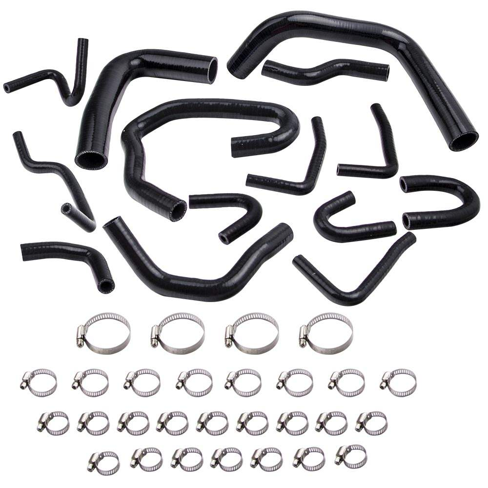 Silicone Coolant Radiator Hose Pipe Kit For Toyota Pickup
