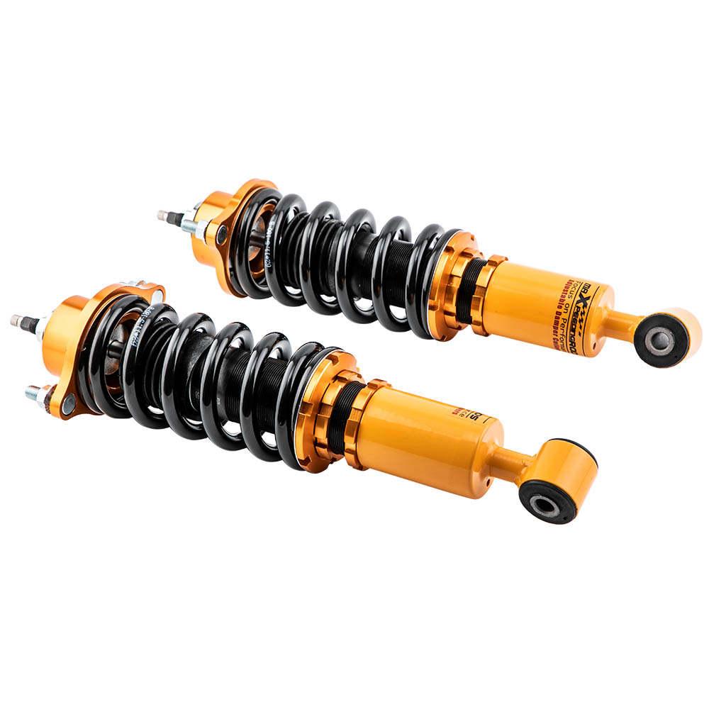 24 Maneras Ajustables Amortiguador Coilovers compatible para Jeep Compass MK compatible para FWD 2007-2010