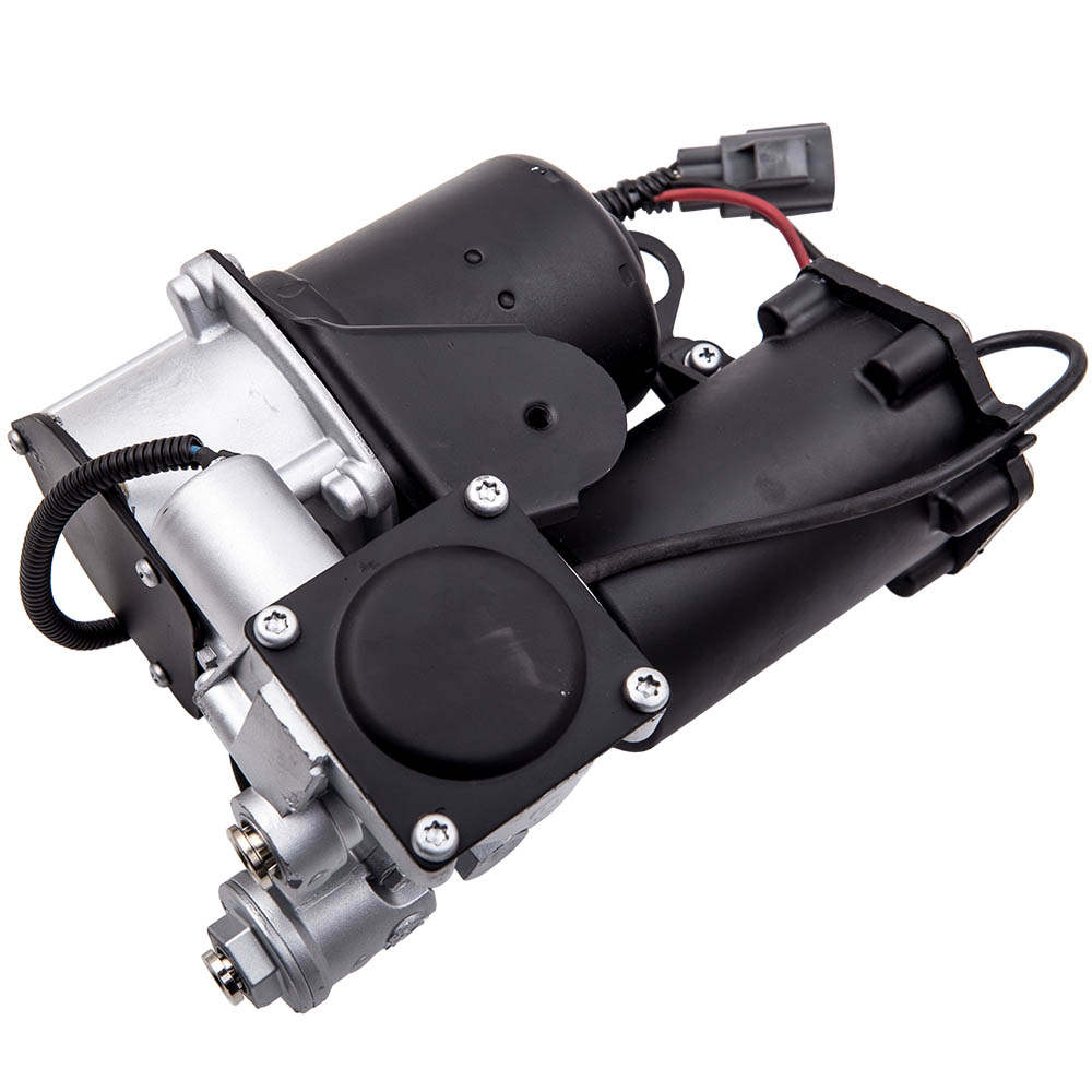 Bomba de compresor de aire de suspensión y soporte de montaje compatible para Land Rover Discovery 3