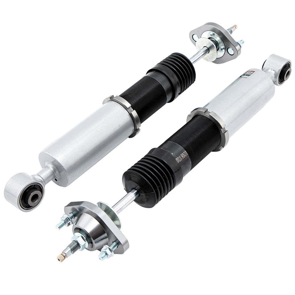 Coilover ajustable compatible para BMW E46 Serie 3 Coupe Estate Touring Juego de suspensión